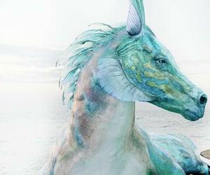 hippocampus, percy jackson, and fantasy image