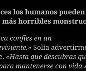 humans, frases, and monsters image