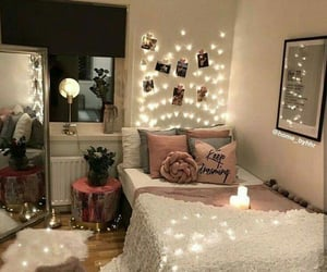 decorations, room inspirations, and bed goals image