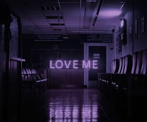 love, aesthetic, and purple image