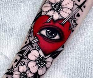 arte, ilustraciones, and tatuaje image