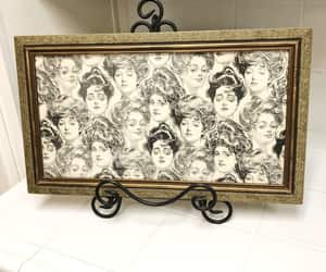 gibson girls, vintage picture, and vintage home decor image