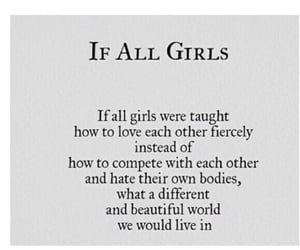 girls, kindness, and strength image