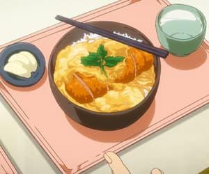 anime, asian, and food image