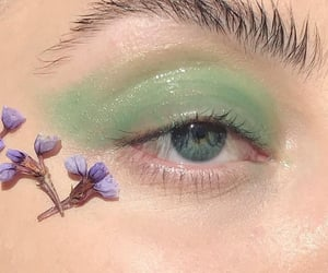 aesthetic, makeup, and eye image