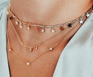 accesories, necklaces, and fashion image
