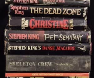The Shining, books, and carrie image