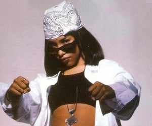 aaliyah, 90s, and pretty image