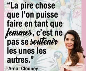 femme, francais, and feministe image