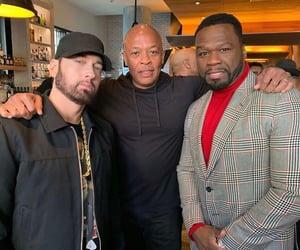 50 cent, eminem, and Dr Dre image