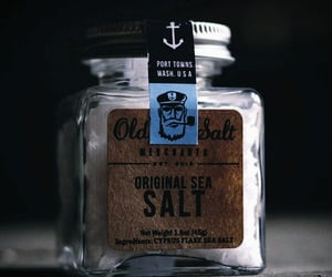 brown, salt, and sea salt image