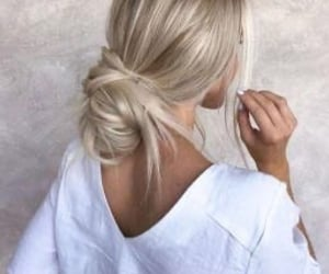 hairstyle and simple image