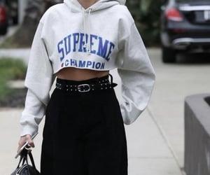black, fashion, and Blanc image