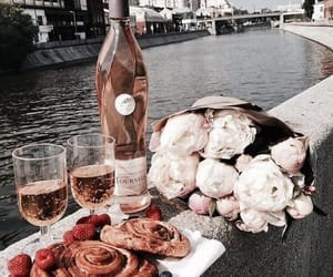 food, flowers, and drink image