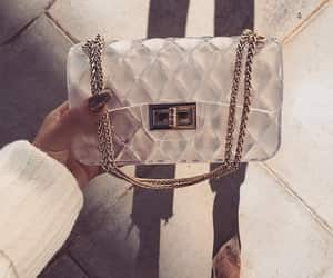 bag, clutch, and chanel purse image