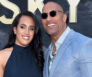 wrestler, wwe, and therock image