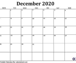 december calendar, free printable, and blank calendar image
