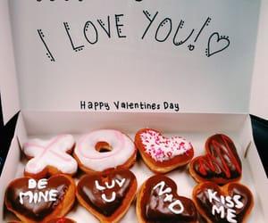 doughnuts, valentinesday, and krispykreme image