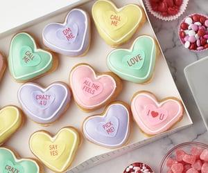 doughnuts, hearts, and bemine image