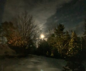 hdr, Maine, and moon image