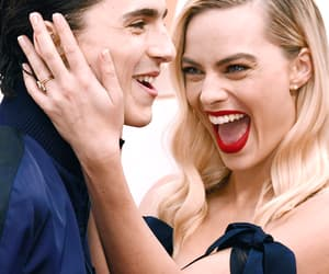 oscars, margot robbie, and timothee chalamet image