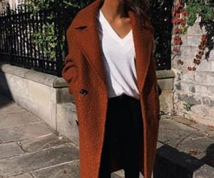 coats, street style, and trends image