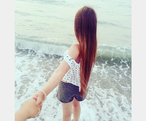 beautiful, style, and long hair image