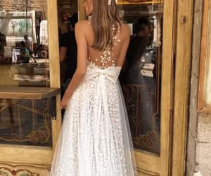 amazing, lace, and long dress image