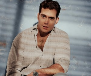 actor, Henry Cavill, and superman image