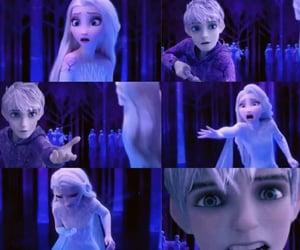 animation, jack frost, and jackelsa image