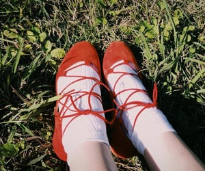 girl, shoes, and innocent image
