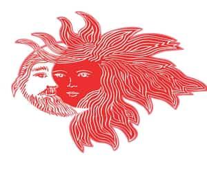 illustration, moon, and mythology image