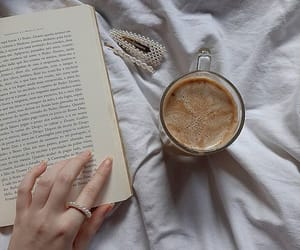 aesthetic, book, and cafe image