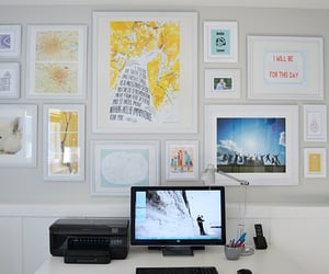 decorations, home office, and picture frames image