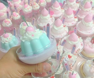 pastel, pudding, and treats image