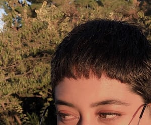 haircut, nature, and pixie image