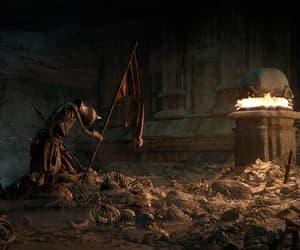 battle, skeleton, and bones image