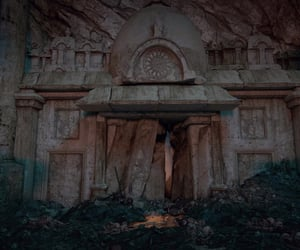 ancient, forgotten, and tomb image