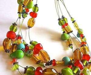 art glass, spring summer, and opaque beads image