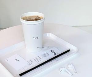 cafe, iced coffee, and korea image