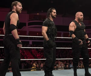 wwe, triple h, and seth rollins image
