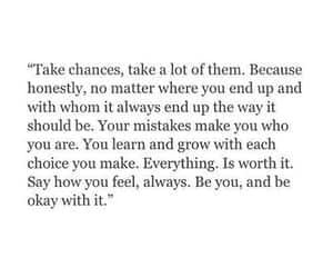chance, choice, and feel image