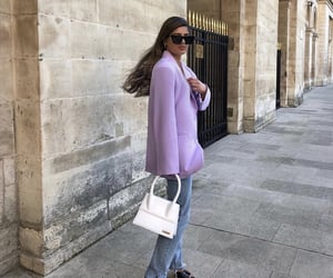 bag, france, and purple image
