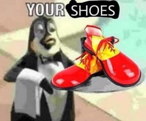 circus, meme, and clown image