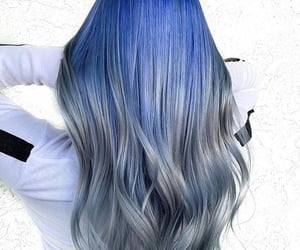 blue, fairy, and hair image