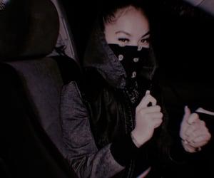 bad girl, black, and fashion image