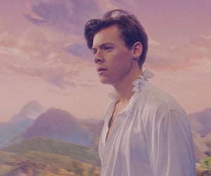 Harry Styles, one direction, and two ghosts image