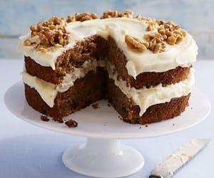 brown, cake, and choco image