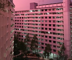 pink, aesthetic, and city image