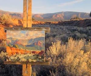 art, artwork, and landscape image